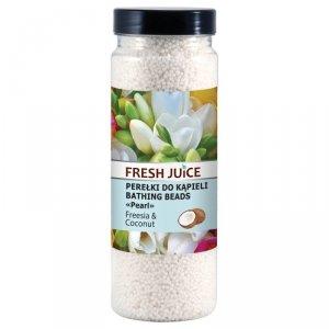 Fresh Juice Perełki do kąpieli Freesia & Coconut  450ml