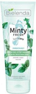 Bielenda Minty Fresh Foot Care Krem -maska do stóp zmiękczający 100ml
