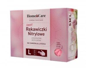 Home & Care Rękawiczki nitrylowe  - rozmiar L  1op.- 50szt