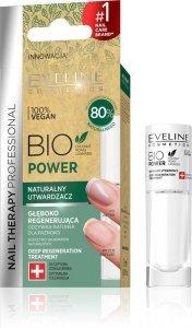 Eveline Nail Therapy Bio Power Naturalny Utwardzacz do paznokci 8ml