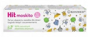 Kosmed Hit Moskito Kids Żel łagodzący po ukąszeniu owadów dla dzieci  15ml