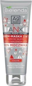 Bielenda ANX Silver Podo Expert Krem-maska 2w1 przeciw silnym zrogowaceniom stóp 100ml