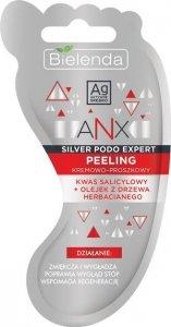 Bielenda ANX Silver Podo Expert Kremowo - Proszkowy Peeling do stóp 10g