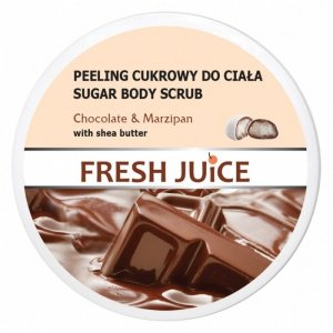 Fresh Juice Peeling cukrowy do ciała Chocolate & Marzipan  225ml