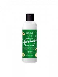 BARWA Naturalna Awokado Odżywka regenerująca do włosów suchych,łamliwych i zniszczonych 200ml