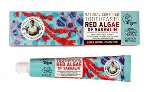 Receptury Babuszki Agafii Pasta do zębów ochraniająca szkliwo Red Algae of Sakhalin 85g
