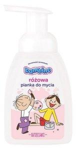 Bambino Dzieciaki Pianka do mycia różowa 250ml