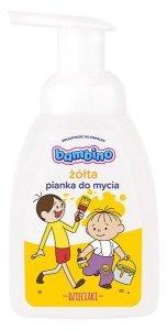 Bambino Dzieciaki Pianka do mycia żółta 250ml