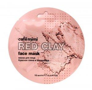 Cafe Mimi Red Clay Maseczka do twarzy Czerwona Glinka & Morwa  10ml