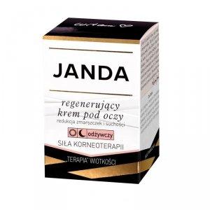 JANDA Silna Regeneracja Krem regenerujący - odżywczy pod oczy na dzien i noc 15ml