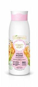 Bielenda Beauty Milky Kremowe Mleczko Ryżowe z prebiotykiem do ciała - odżywcze 400ml