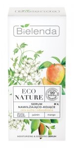 Bielenda Eco Nature Serum do twarzy nawilżająco-kojące - Śliwka Kakadu & Jaśmin & Mango 30ml