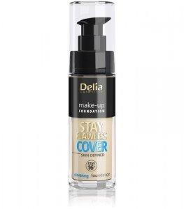 Delia Cosmetics Stay Flawless Cover Podkład kryjący 16H nr 501 Porcelain 30ml