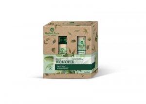Farmona Zestaw prezentowy Herbal Care Konopie (Szampon do włosów 330ml +Serum do włosów 100ml)