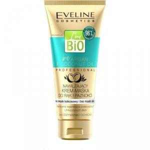 Eveline Bio Argan & Coconut Oil Nawilżający Krem-maska do rąk i paznokci 100ml
