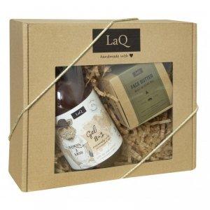LaQ Zestaw prezentowy dla mężczyzn Dzik (żel pod prysznic 500ml+masło 50ml) 1op.