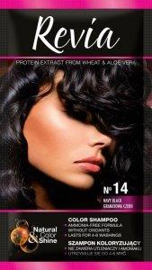 Revia Szampon koloryzujący do włosów nr 14 Granatowa Czerń  1op.
