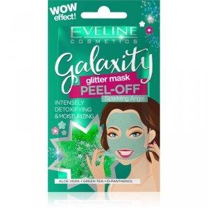 Eveline Galaxity Glitter Mask Maseczka do twarzy detoksykująco - nawilżająca Sparkling Angel 10g