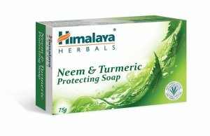 Himalaya Herbals Mydło w kostce oczyszczające Neem & Turmeric  75g