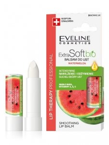 Eveline Lip Therapy Professional Balsam ochronny do ust Extra Soft Bio - Arbuz 4g