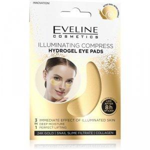 Eveline Hydrogel Eye Pads Hydrożelowe Płatki pod oczy - rozświetlający kompres  1op.-2szt
