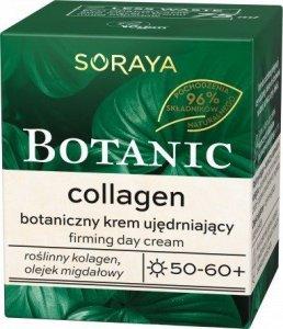 Soraya Botanic Collagen 50-60+ Botaniczny Krem ujędrniający na dzień  75ml