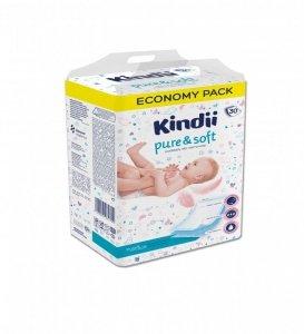 Kindii Pure & Soft Podkłady jednorazowe dla niemowląt 1op.-30szt