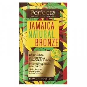 Perfecta Jamaica Natural Bronze Brązująca Chusteczka samoopalająca  1szt