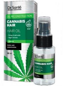 Dr.Sante Cannabis Hair Rewitalizujący Olejek do włosów 50ml
