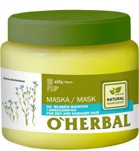 Elfa Pharm O'Herbal Maska do włosów suchych i zniszczonych  500ml