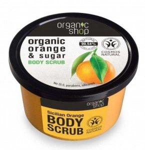 Organic Shop Scrub do ciała Sicilian Orange 250 ml