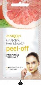 Marion Spa Maseczka Peel Off nawilżająca - Pink Pomelo i Witamina C  18ml