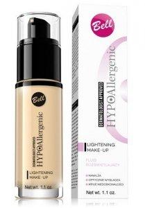 Bell Hypoallergenic Fluid rozświetlający Lightening  nr 03 Sunny Beige   30g