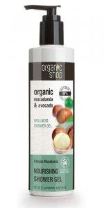 Organic Shop Żel pod prysznic Nawilżający Kenijska Makadamia 280 ml