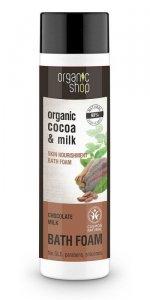 Organic Schop Płyn do kąpieli Odżywczy Mleczna czekolada BDIH