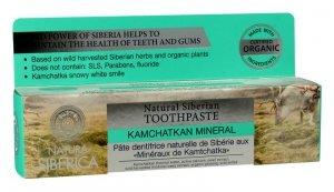 Siberica Natura Pasta do zębów wzmacnia szkliwo Minerały Kamczatki 100 g