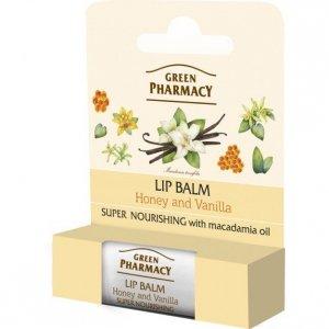 Green Pharmacy Lip Balm Balsam do ust Super Nourishing  1szt