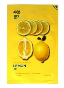 Holika Holika Pure Essence Mask Sheet-Lemon  1szt