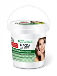 Fitocosmetics Przepisy Ludowe Maska do włosów pokrzywowa wzmacniająca - wiaderko  155ml