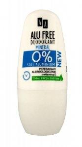 AA Dezodorant roll-on Alu Free Mineral  50ml