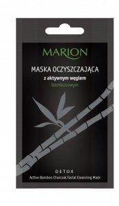 Marion Detox Aktywny Węgiel Maska oczyszczająca  10g