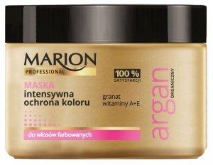 Marion Professional Argan Organiczny Maska do włosów intensywna ochrona koloru  450g