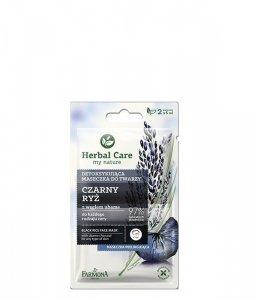 Farmona Herbal Care Maseczka detoksykująca do twarzy Czarny Ryż  2 x 5ml