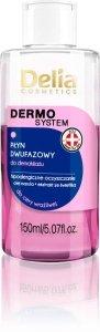 Delia Cosmetics Dermo System Dwufazowy płyn do demakijażu  - cera wrażliwa  150ml