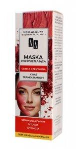 AA Carbon & Clay Maska rozświetlająca z glinką czerwoną - cera mieszana i normalna  30ml