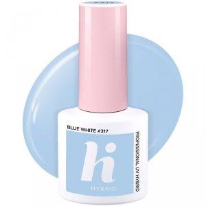 Hi Hybrid Lakier hybrydowy Unicorn nr 317 Blue White  5ml