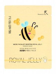 Beauty Kei Maseczka na płacie odżywcza Royal Jelly  1szt