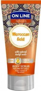 On Line Senses Peeling do ciała Moroccan Gold  200ml