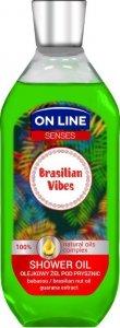 On Line Senses Olejkowy Żel pod prysznic Brasilian Vibes  500ml