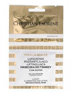 Christian Laurent Luksusowa Maseczka do twarzy rozświetlająco-liftingująca  5ml x 2
